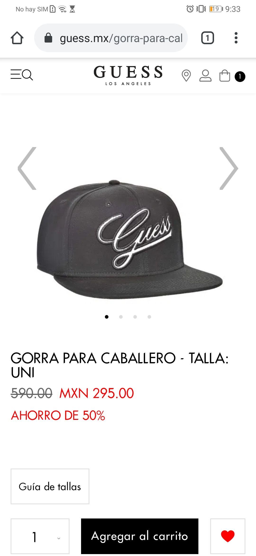 Gorras GUESS