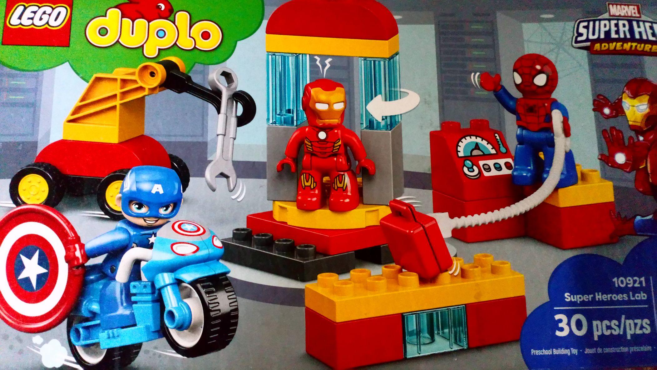 Walmart plaza san roque:lego duplo marvel super hero