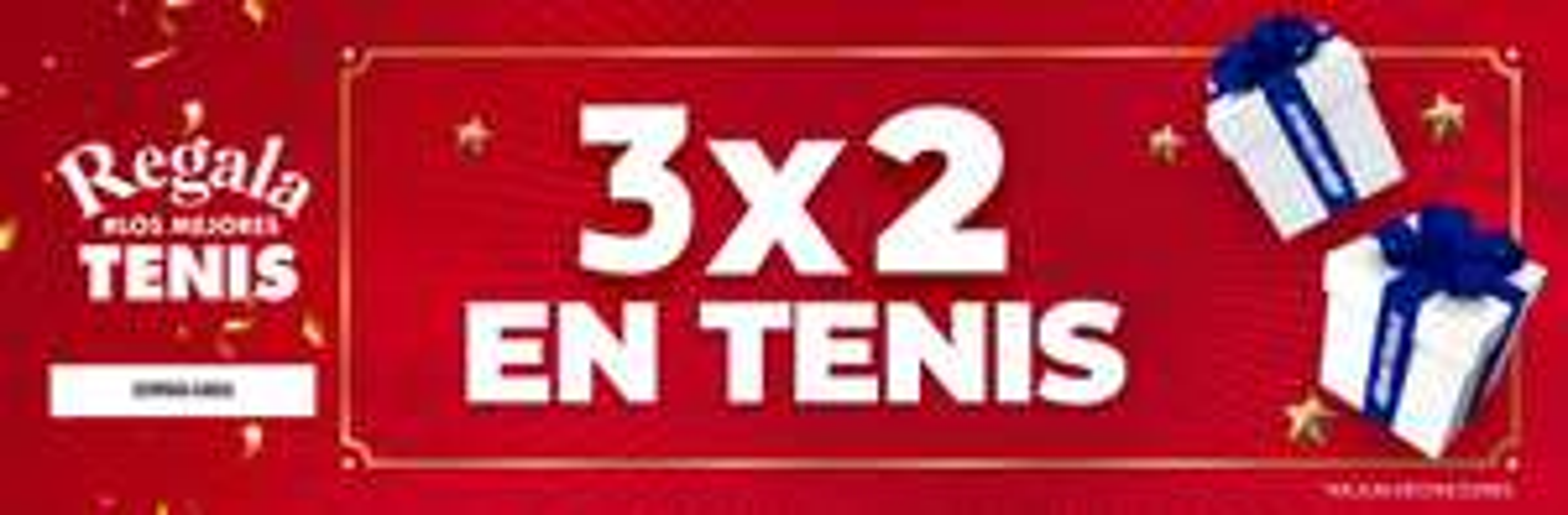 Dportenis : 3x2 tenis (seleccionados) + 40% off (segunda compra) + 3 MSI (Citibanamex, BBVA, Santander) + Rebook (regalo tarjeta $200)