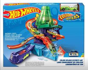 Amazon: Hot Wheels Laboratorio Científico Color Shifters