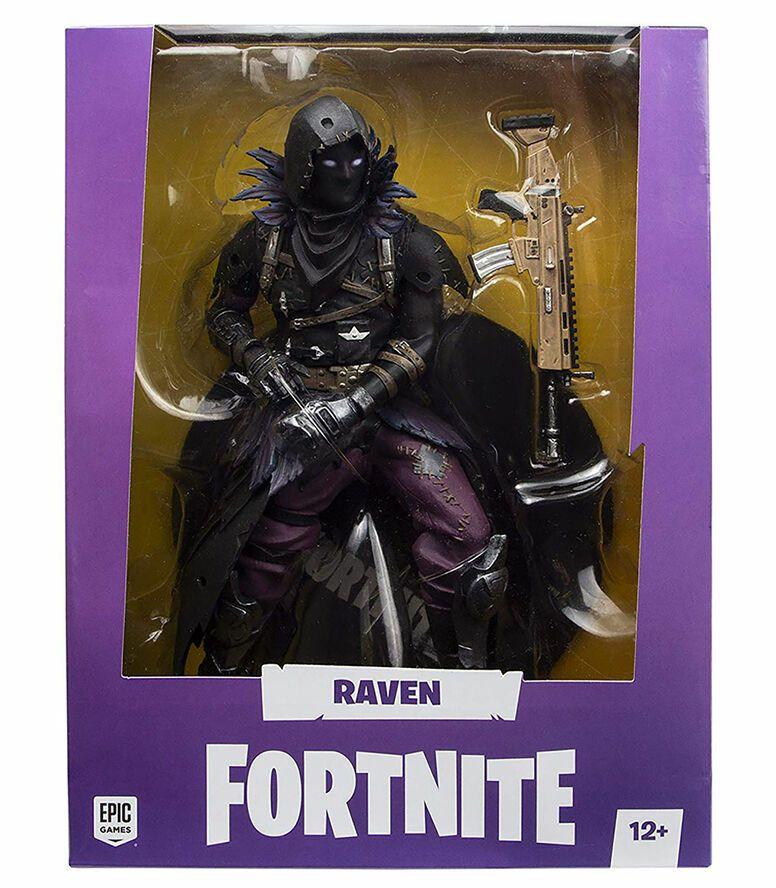 50 % de descuento en juguetron: Figura Raven Fortnite