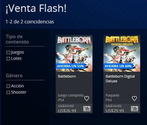 PSN Store: Battleborn $27 y Edición deluxe $30 usd Venta Flash