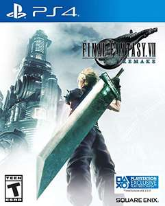 Amazon: Final Fantasy VII Remake PS4