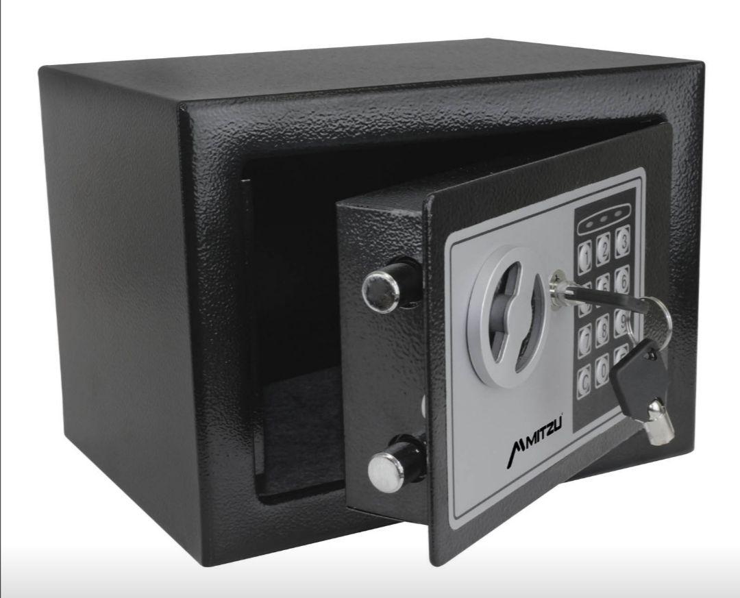 Amazon: caja fuerte electrónica, código de seguridad y llave