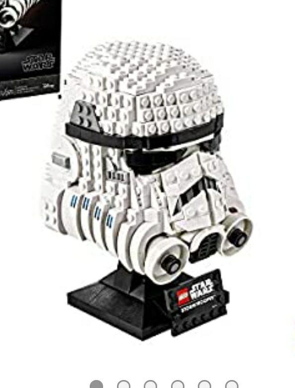 Amazon: LEGO Star Wars 75276 Casco de Stormtrooper (647 piezas)