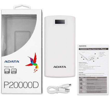 Linio: Power Bank Adata 20000 mAh (con PayPal, envío gratis con Plus)
