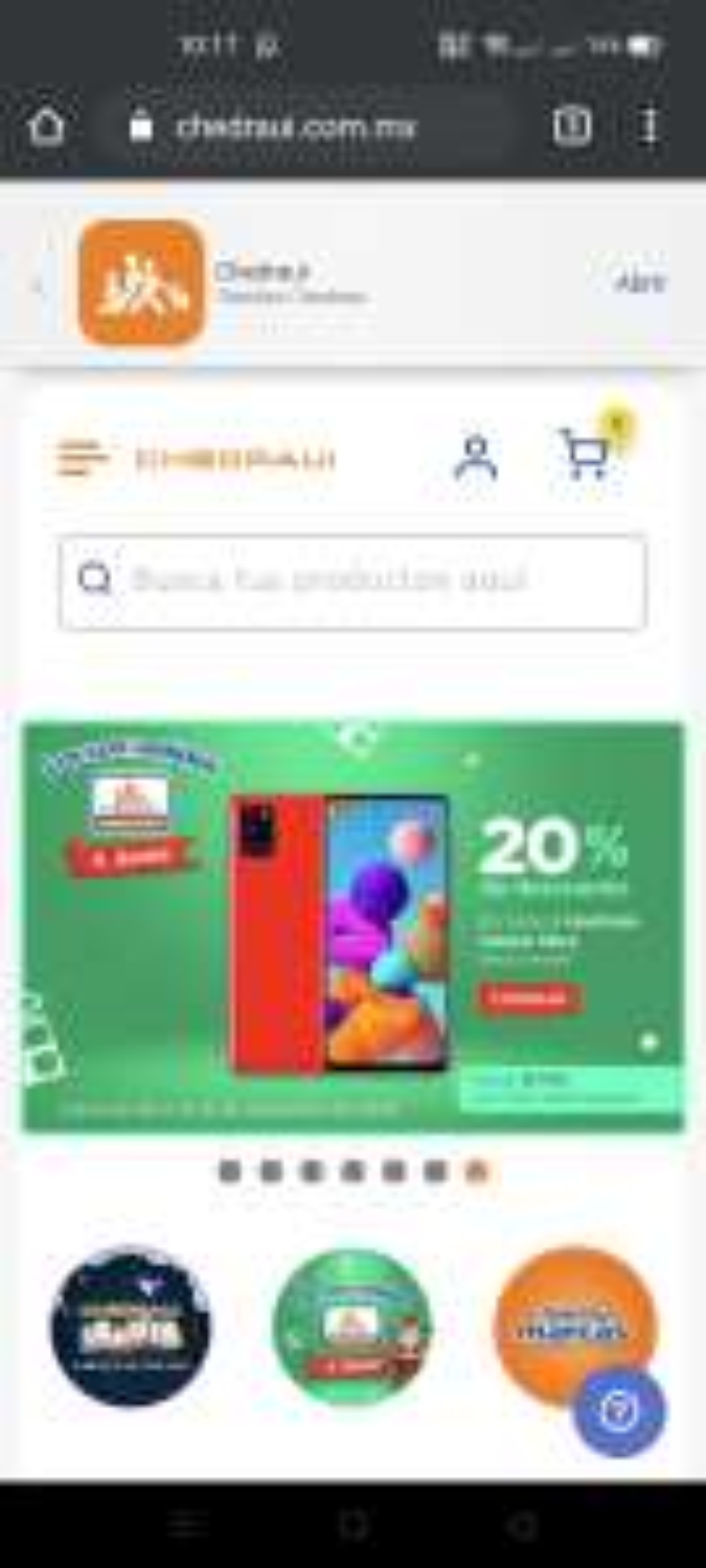 20% de descuento en telefonía libre Chedraui en linea