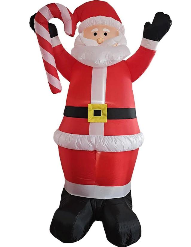 Lverpool: Inflable Navidad Beckon Santa Claus Luz Led 2.4 m Navideño