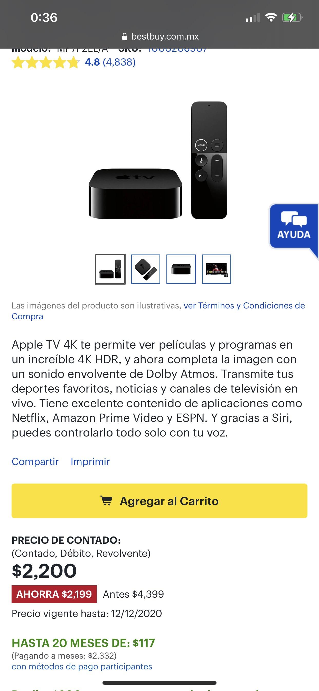 Bestbuy Apple TV 2200
