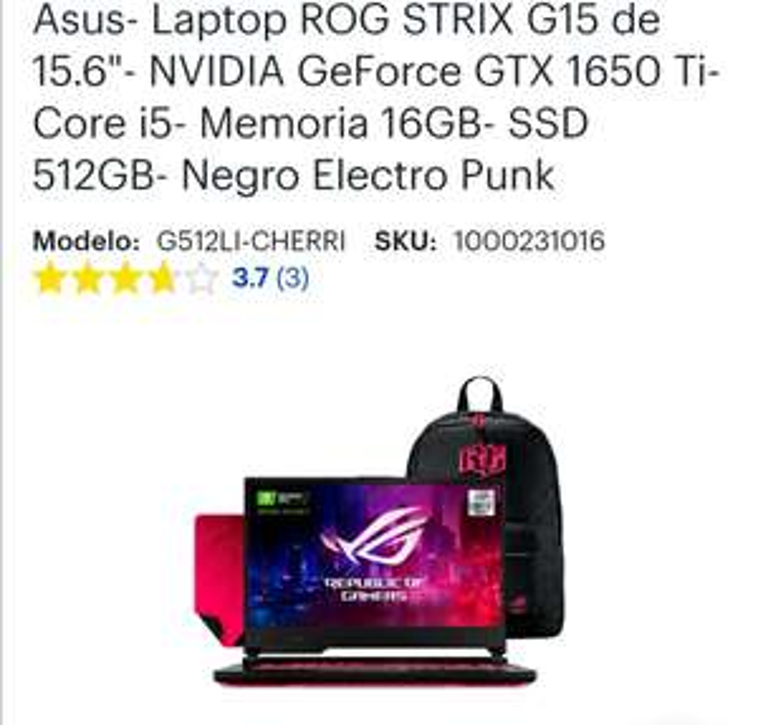 Best Buy: Laptop gamer asus