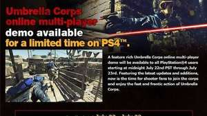 Umbrella Corps: Demo PSN