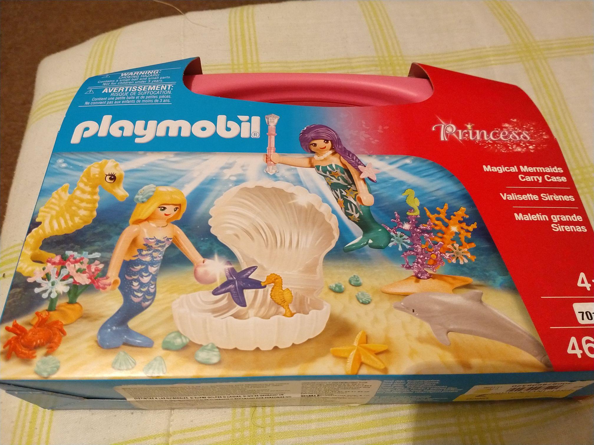 Bodega Aurrerá: Playmobil sirenas, última liquidación