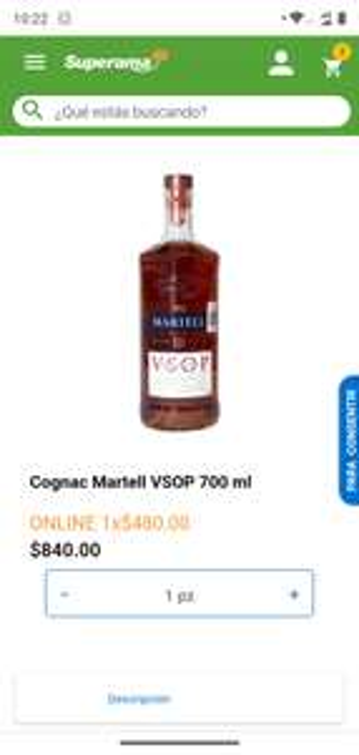Superama: Martell VSOP