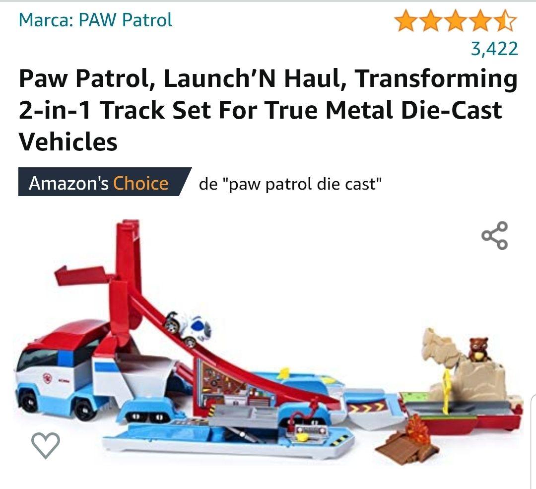 Amazon Paw patrol vehículo launch ' N haul de $1249 a $763 (prime)