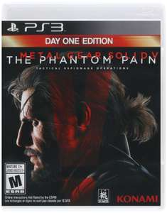 Amazon: Metal Gear Solid V The Phantom Pain (Day One Edition) PS3 a $187