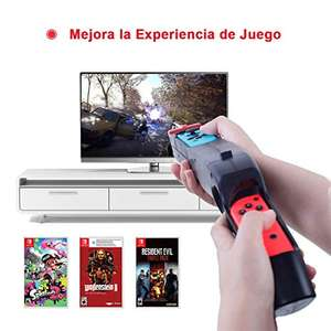 Amazon: Sanbee Game Gun Pistola Hand Grip para Nintendo Switch Joy Con, Compatible con Juegos de Disparos/Deportes - 1 Pack