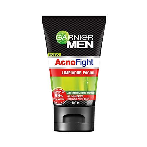 Amazon: Garnier Men, Gel limpiador facial, Acno Fight