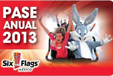 Six Flags: pase anual ilimitado para 2012 y 2013 a $470