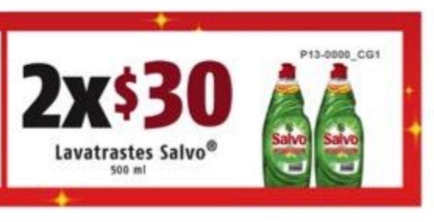 Salvo líquido de 500 ml 2x$30 en OXXO Nacional