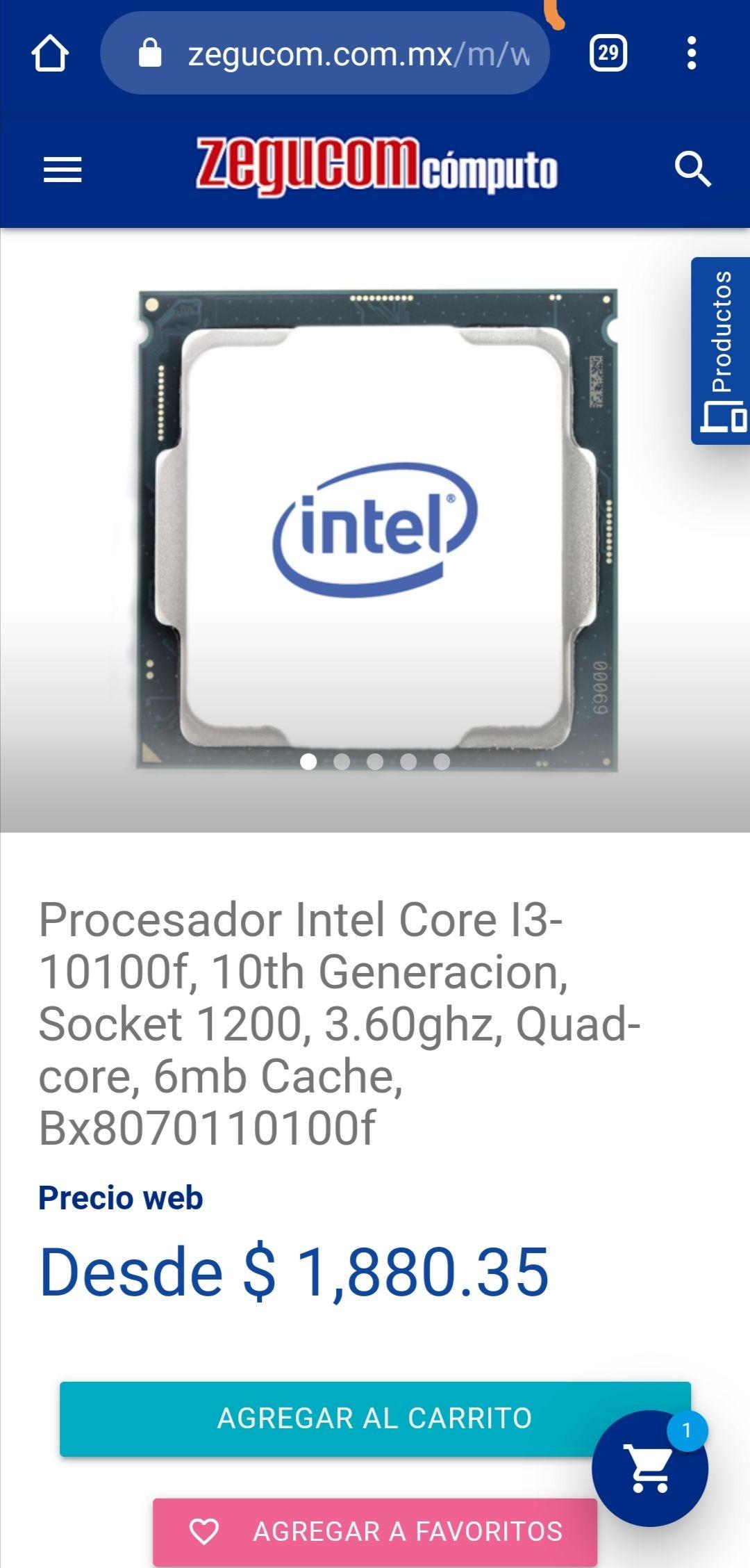 Zegucom: Core I3 10100F