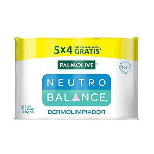 Amazon: Palmolive Neutro Balance Jabón de Tocador Dermolimpiador 5x100gr