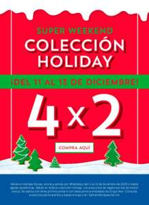 Bath and body works: 4x2 Colección Holiday