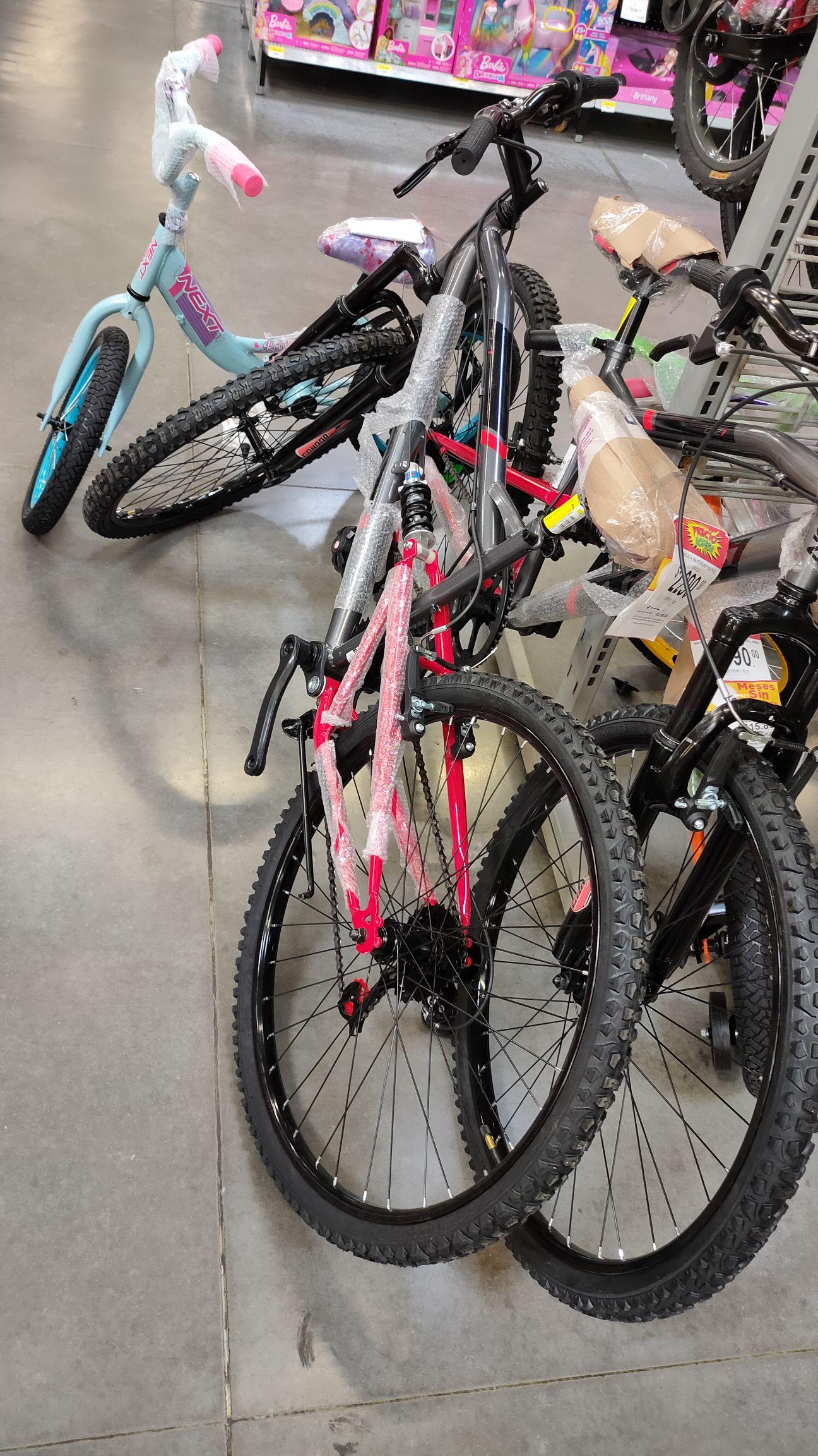 Bodega Aurrera: bicicleta R26