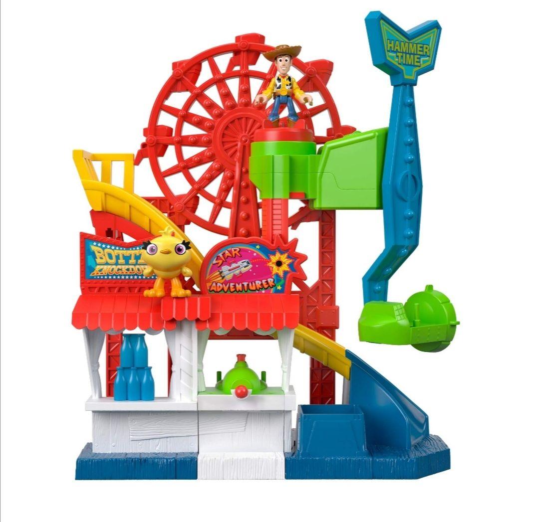 Amazon: Toy Story Fisher-Price Disney Pixar 4 Juego de Carnaval,, Multicolor