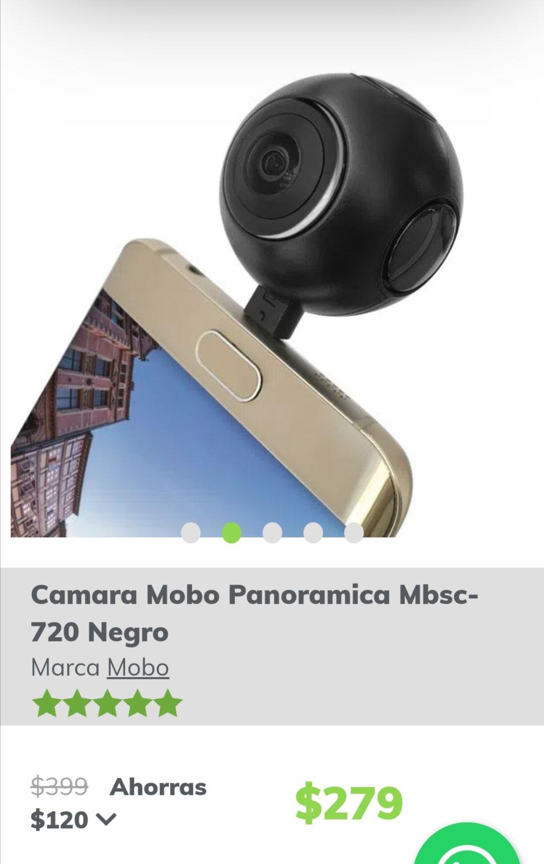 Mobo: Cámara panorámica mbsc de $399.00 a $279.00