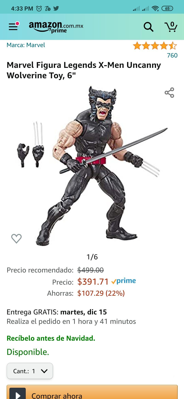 Amazon: Marvel Legends: Uncanny Wolverine