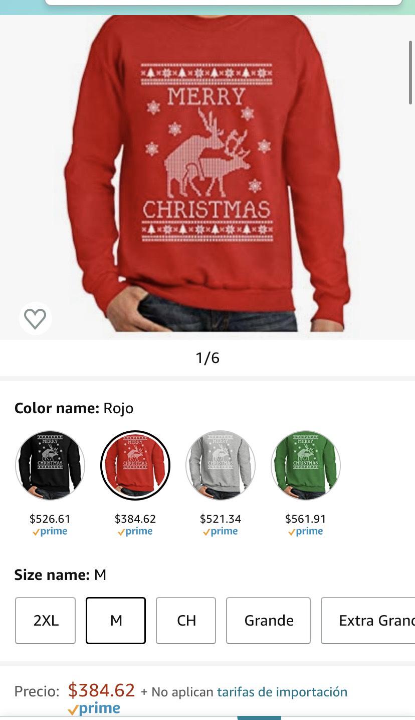 Amazon: Reno ugly sweater
