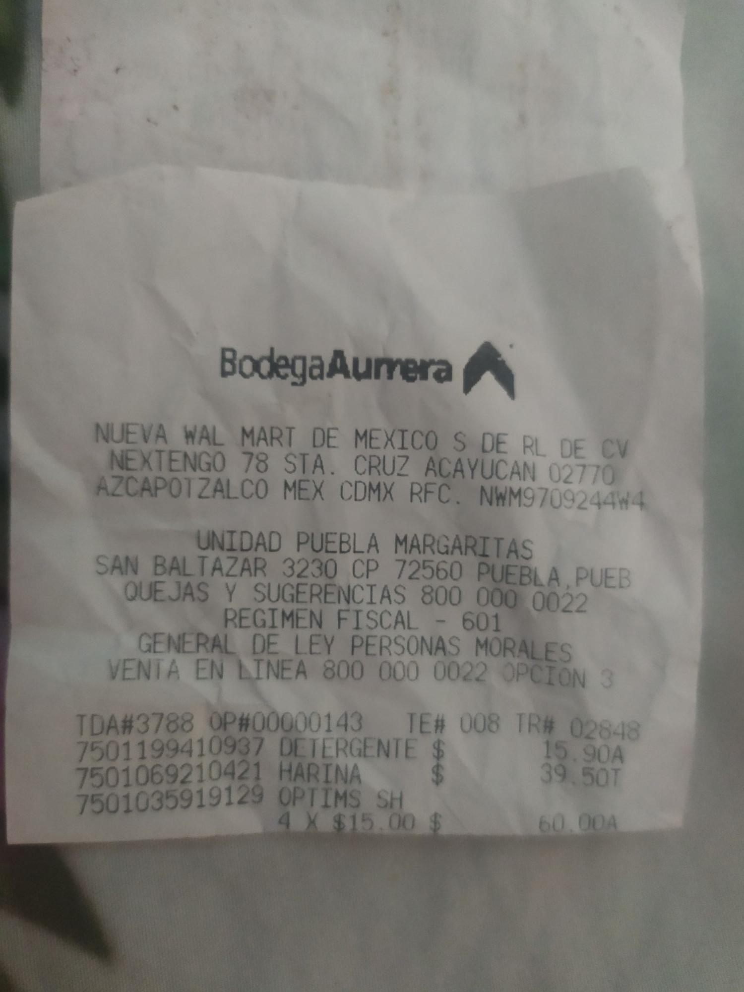 Bodega Aurrera: Shampoo Palmolive