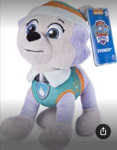 Amazon : Paw Patrol Peluche Everest, 20cm