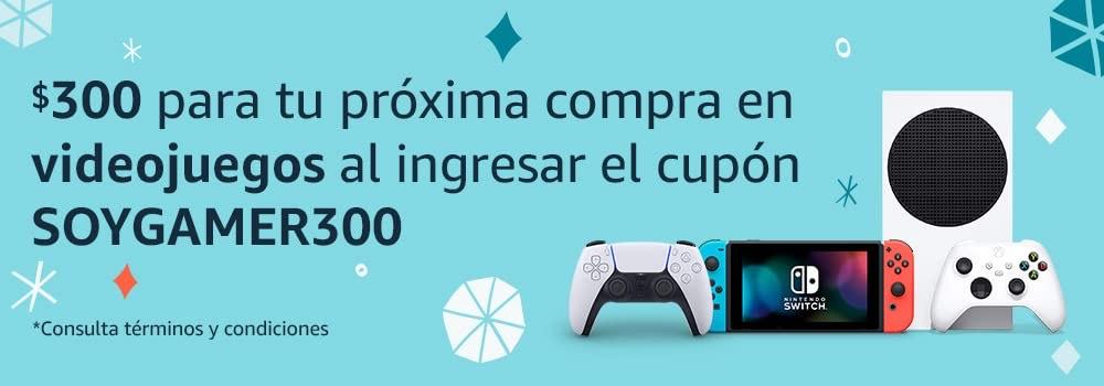 Amazon: Cupon de 300 en videojuegos