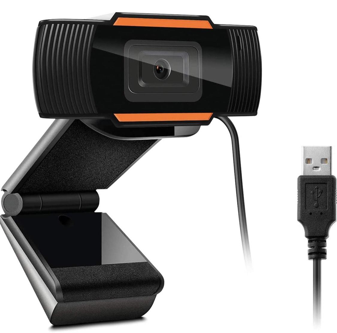 Amazon: 1080P HD Cámara Web ajustable, con micrófono