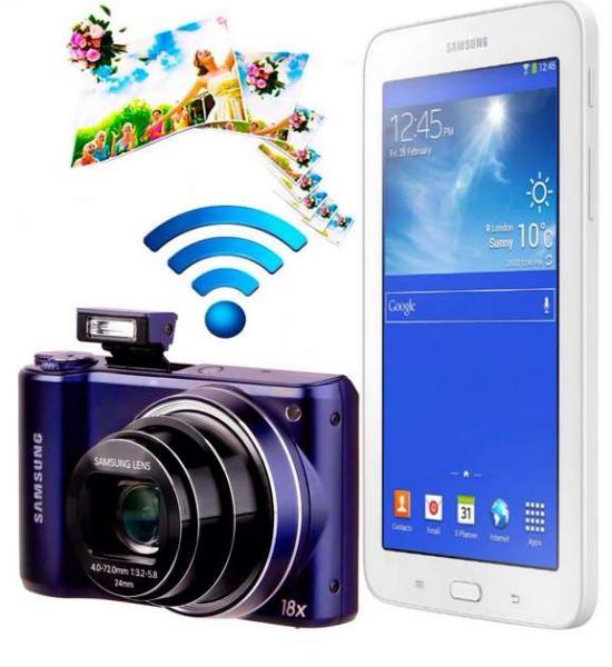 """Walmart: cámara Samsung WB200F con Wi-Fi + Galaxy Tab 3 Lite 7"""" $3,861"""