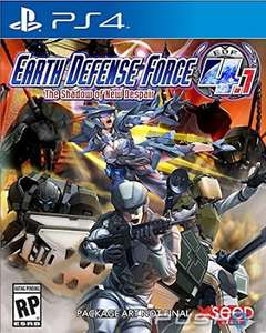 Playstation Store: Earth Defense Force 4.1 a $19.99 USD con Plus
