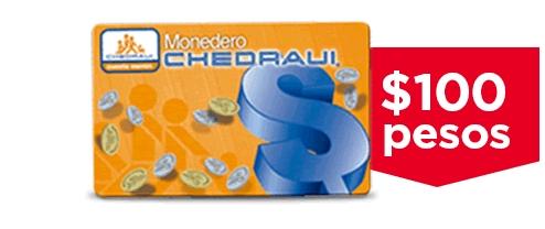 Banorte: $100 de bonificación por cada mil de compra en chedraui (+MSI)