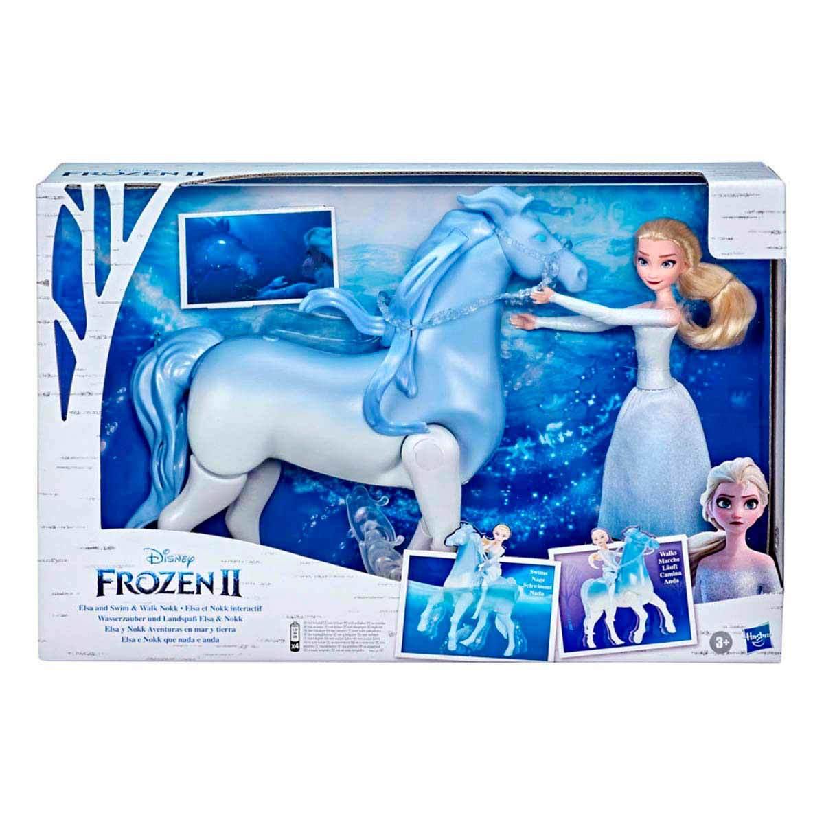 Chedraui: Frozen II Figura Elsa y Nokk Aventuras en Mar y Tierra