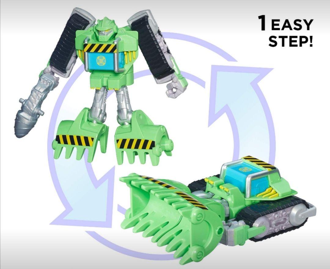 Amazon: Playskool Heroes Transformers Rescue Bots Energize Boulder The Construction-BOT Figure