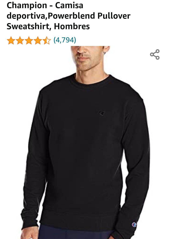 Amazon: Suéter/sudadera Champion (talla M)