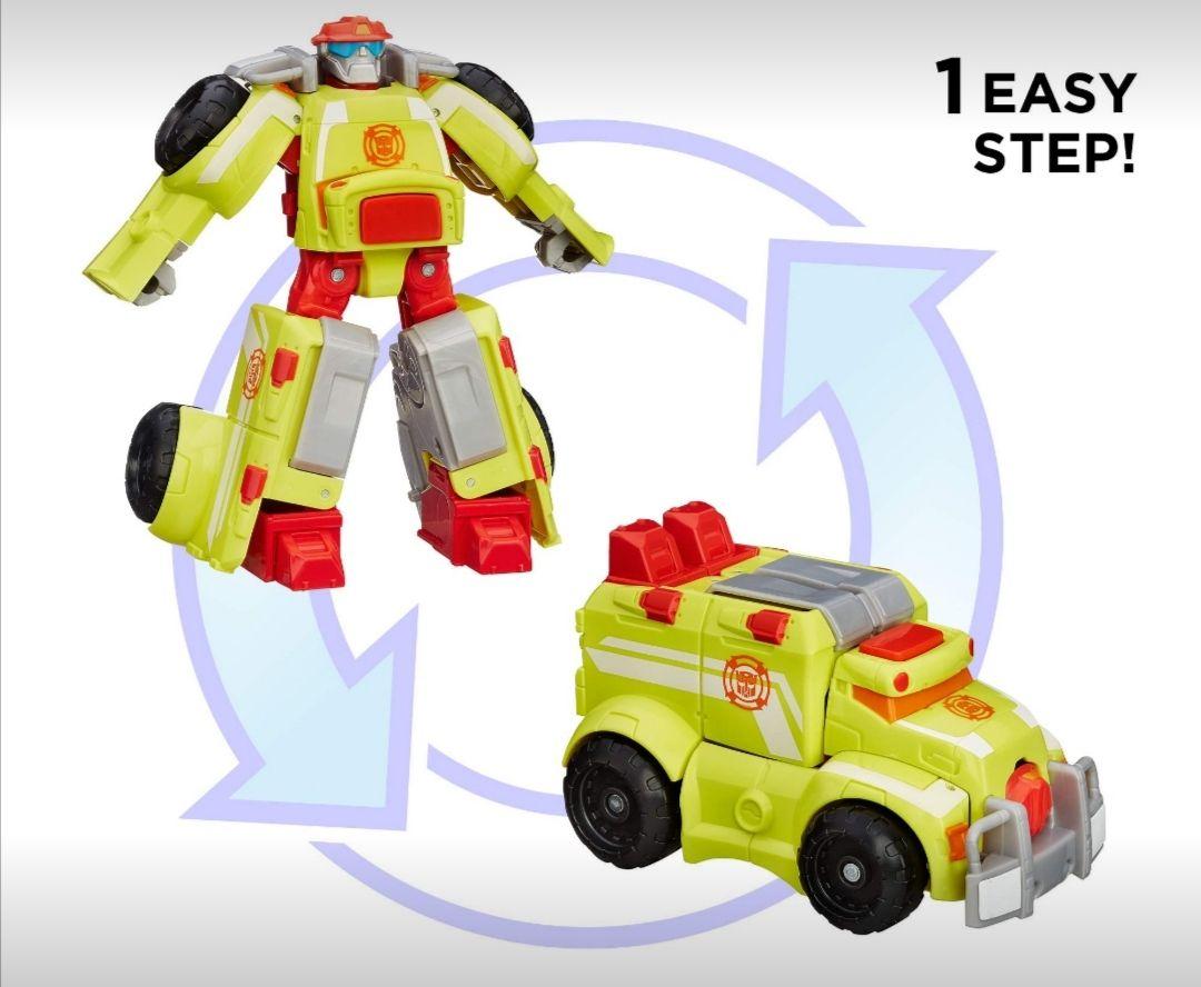 Amazon: Playskool Heroes Transformers Rescue Bots, Figura de Acción