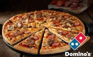 dominós pizza y pizza hut pizza grande por 149 pesitos