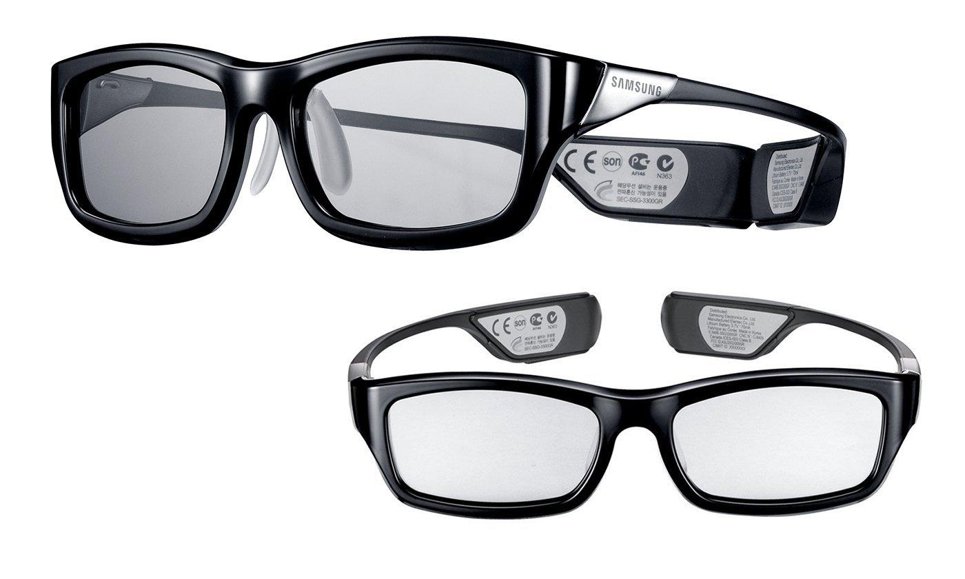 Amazon MX: Paquete de 2 Gafas 3D Samsung, Activas (recargables) SSG-3300GR