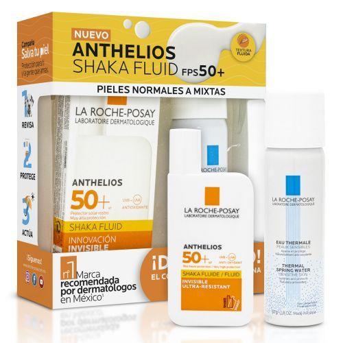 Farmacia del ahorro: La roche posay - pack protector solar anthelios con color FPS 50+