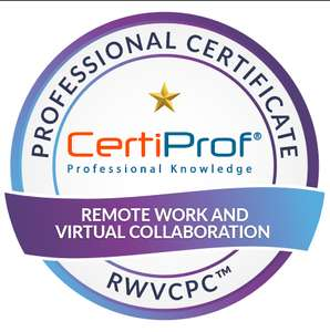 Certificación Remote Work & Virtual Collaboration