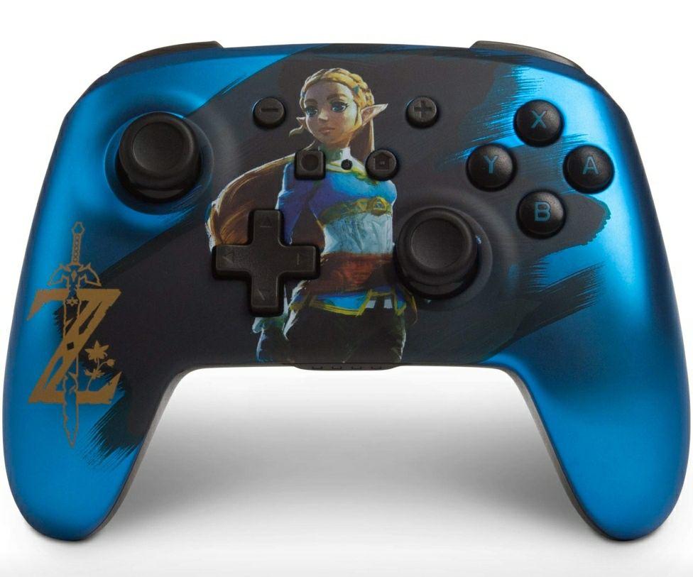 Amazon: Control Inalámbrico para Nintendo switch Zelda
