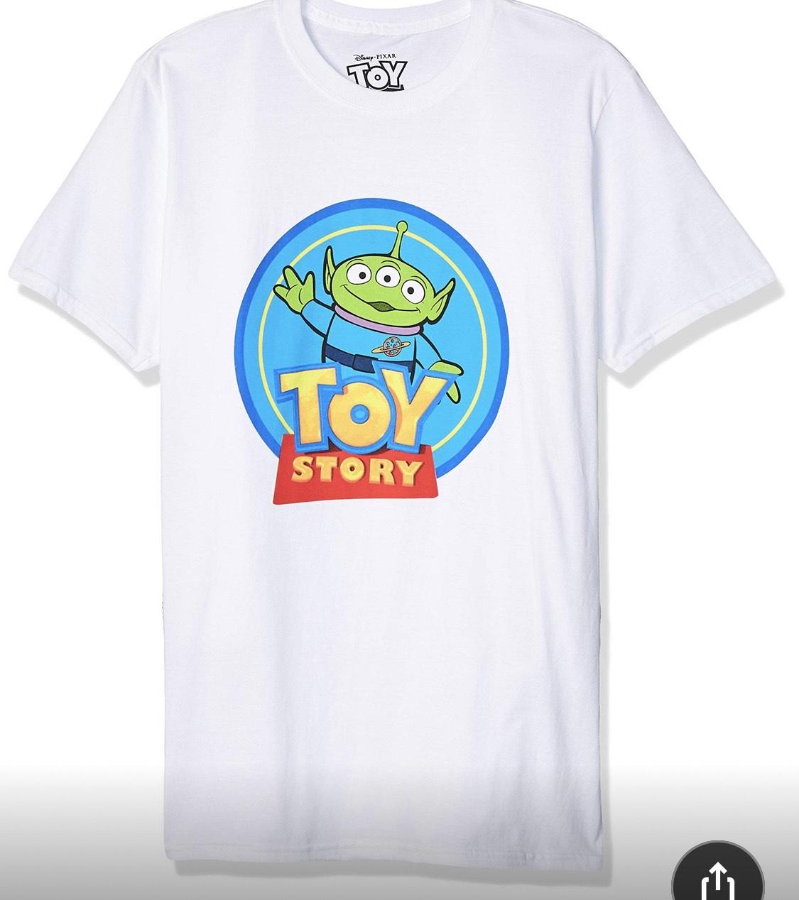 Amazon: Playera Toy Story talla G