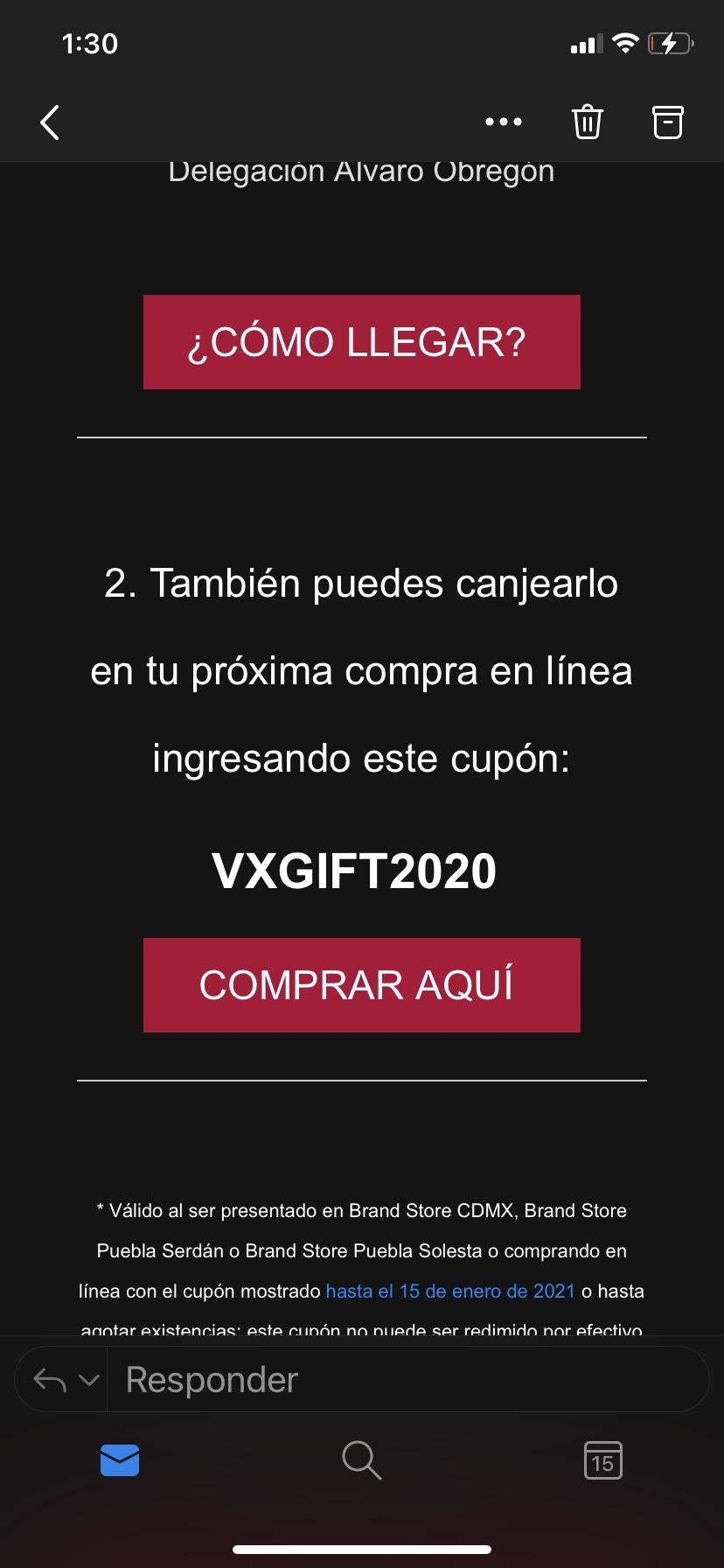 Victorinox: Neceser Rojo GRATIS en proxima compra en línea