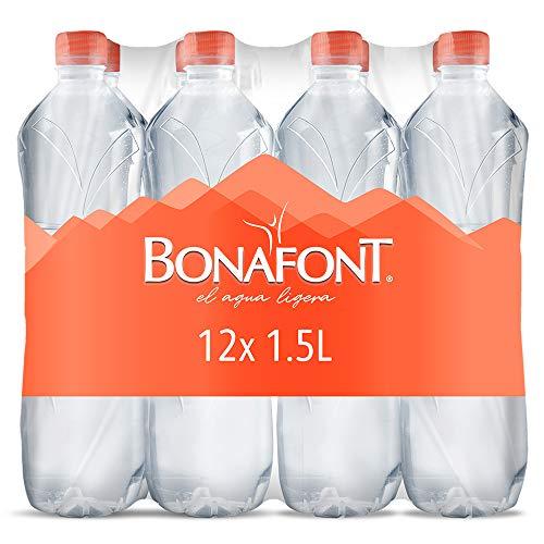 Amazon: Bonafont agua natural de 1.5 litros, 12 Pack